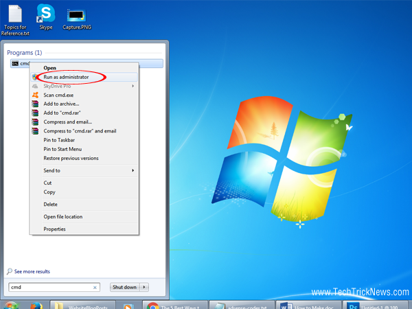 How to Run Command Prompt as-an Administrator