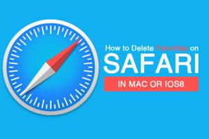 How to Delete Favorites on Safari