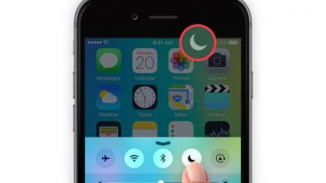 Do Not Disturb iPhone Feature