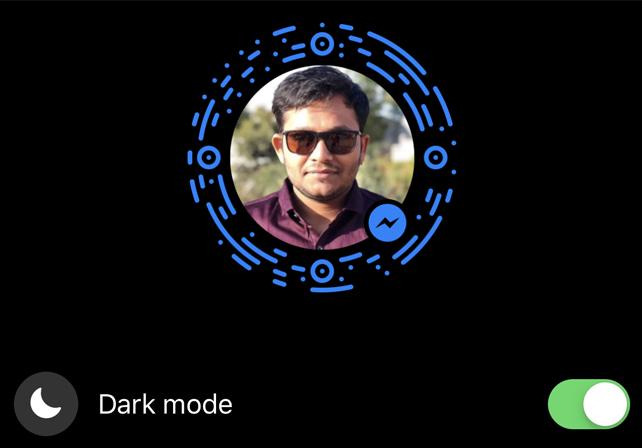 How to Turn on Dark Mode Facebook Messenger