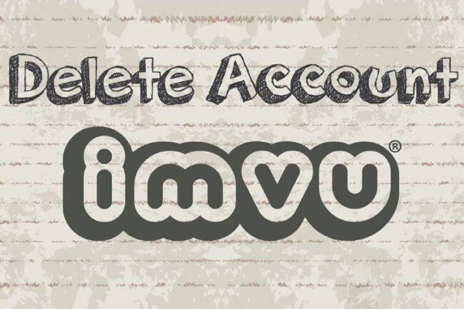 Delete IMVU Account