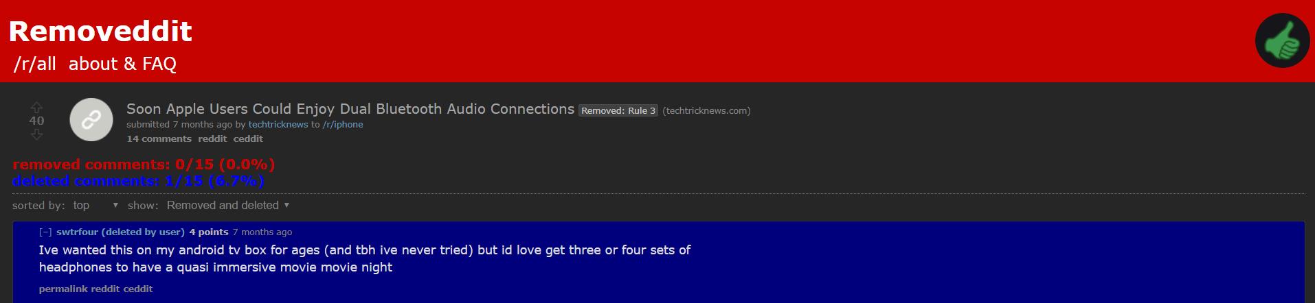 Removeddit Post