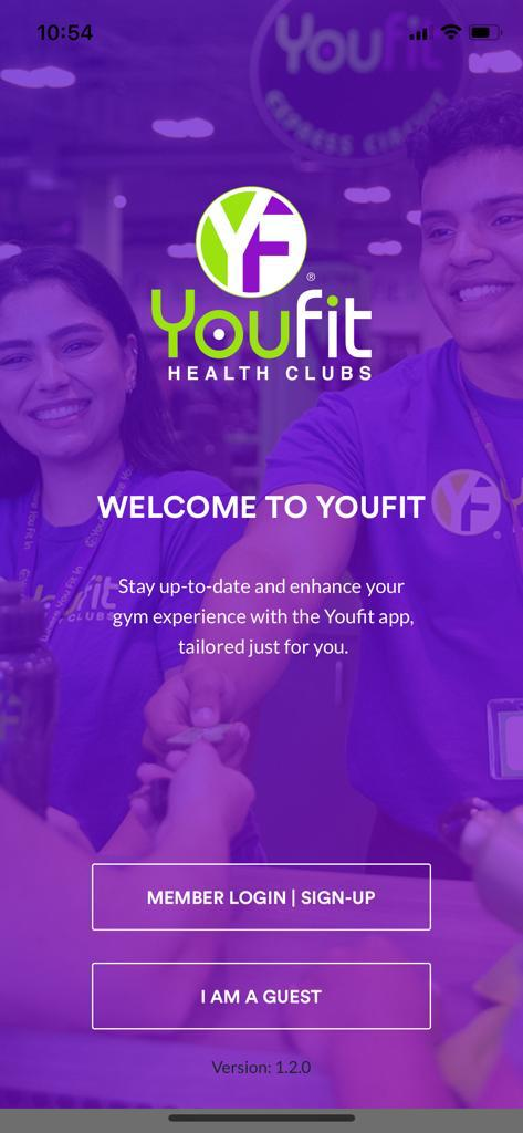 Youfit Health Clubs App