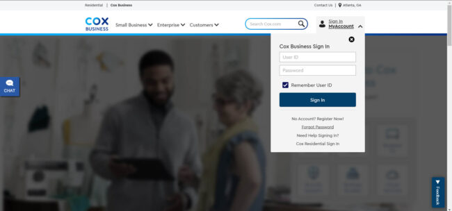 Sign In Cox Business Account
