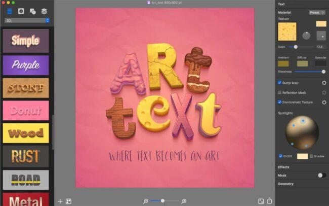 Art Text Effect