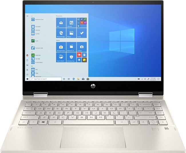 2020 HP Pavilion x360 Touchscreen 2-in-1 Convertible Laptop