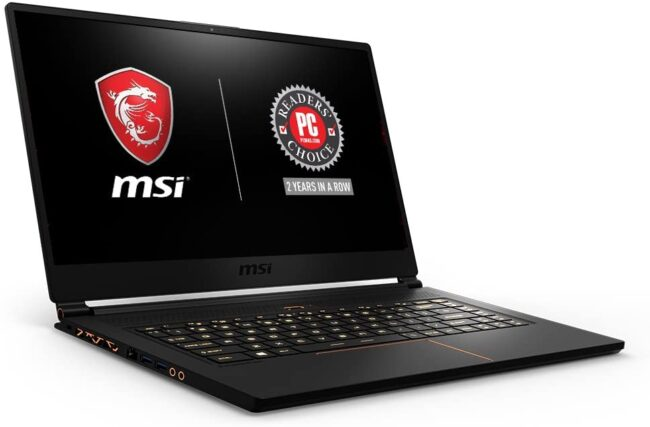 MSI GS65 Stealth THIN-259 15.6 Inch Ultra Thin Bezel Gaming Laptop