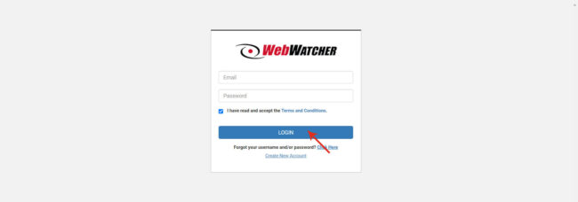 Login Webwatcher Com