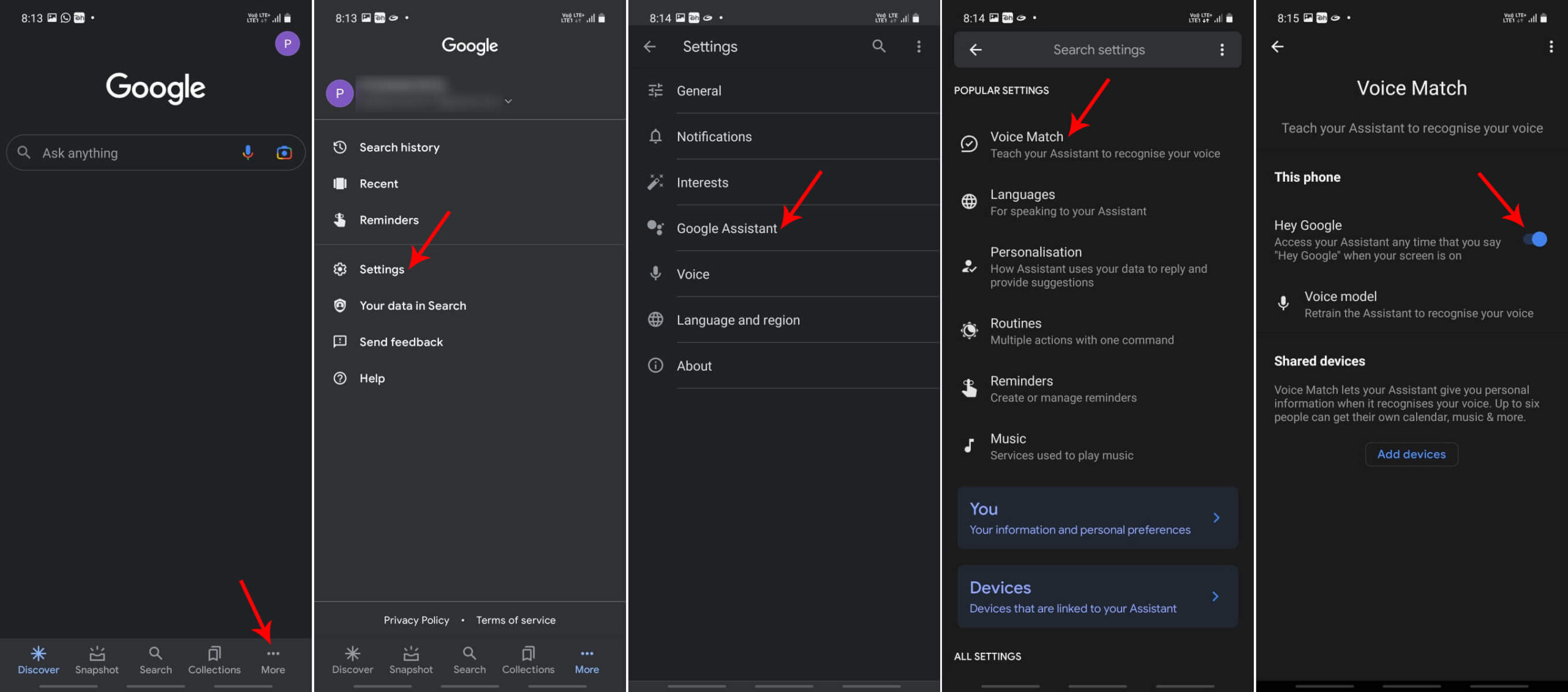 Steps to Disable Ok Google Voice Search on Android