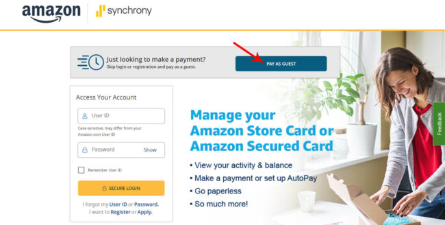 Pay-Amazon-Credit-Card-Payment-as-a-Guest