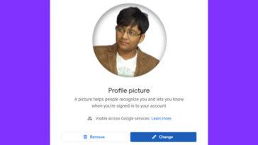 How to Remove Google Profile Picture